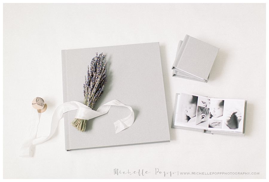 grey linen heirloom albums